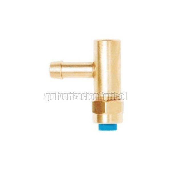 Portaboquilla de latón completo simple tubo 10 mm