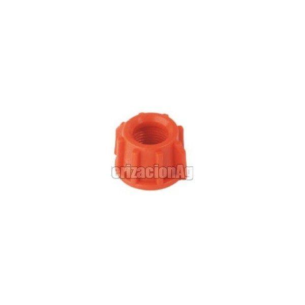 Tuerca roscada 3/8″ plástico